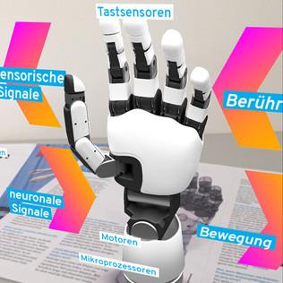 Die bionische Handprothese